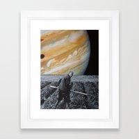 collage 12 Framed Art Print