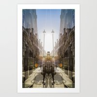 sunrise spot collector Art Print