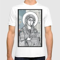 Madonna Of Today's Horos… Mens Fitted Tee White SMALL