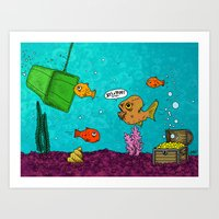 Admiral Ackbar It's A Tr… Art Print