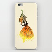 Bookworm Metamorphosis iPhone & iPod Skin