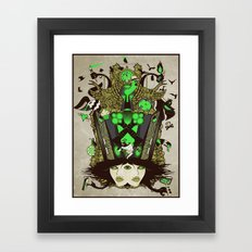 Molly Can't Make Up Her Mind 2.0 Framed Art Print