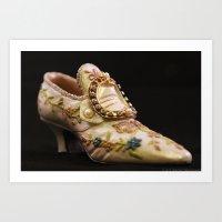 Tiny Vintage Shoe Art Print