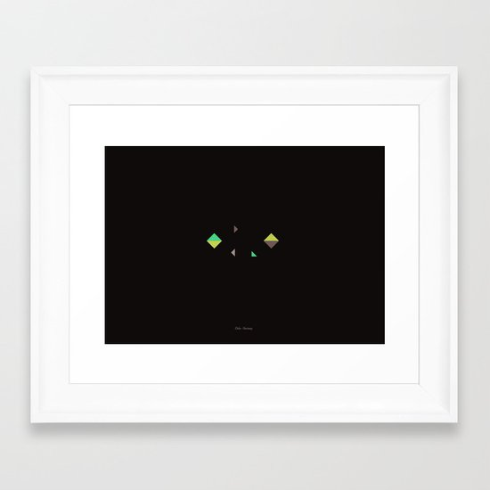 Oslo - Citries Project Framed Art Print