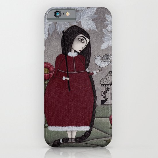 Winterbird, or Hope is a Thing With Feathers iPhone & iPod Case