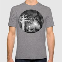 Rest In Expectation Mens Fitted Tee Tri-Grey SMALL