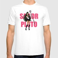Sailor Pluto Mens Fitted Tee White SMALL