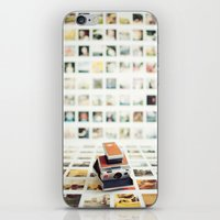 Polaroid Wall iPhone & iPod Skin
