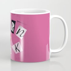 The ORIGINAL Burn Book design from the movie Mean Girls Mug