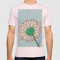Lookin' Up Mens Fitted Tee Light Pink SMALL