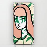Plant Girl iPhone & iPod Skin