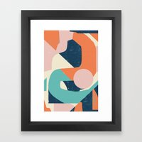 Dreamy Reactions Framed Art Print
