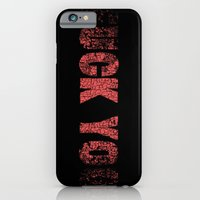 iPhone & iPod Case featuring UCK YO by Mr. E