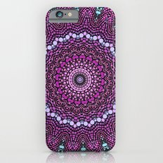 purple and blue kaleidoscope Slim Case iPhone 6s