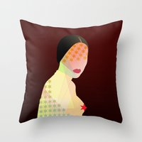 Porn Star Throw Pillow