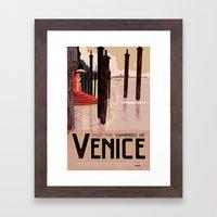 The Vampires of Venice Framed Art Print