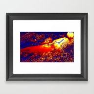 Unknown Terrain Framed Art Print