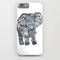 iPhone & iPod Case featuring Elephant by Starr Shaver