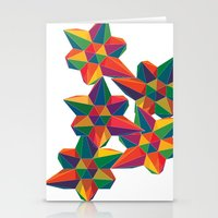 Hexagon Explosion Stationery Cards