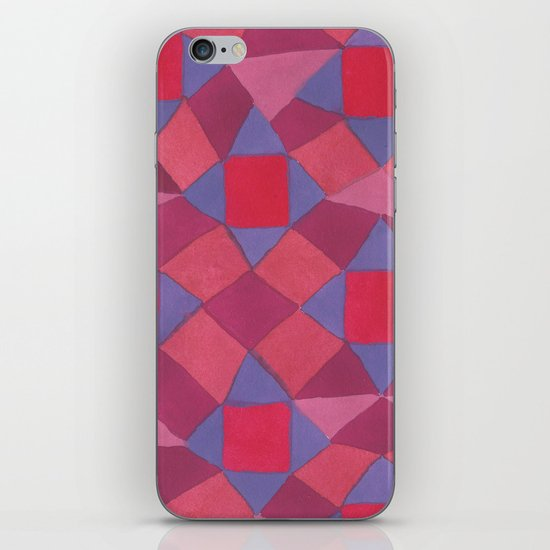 Quilt iPhone & iPod Skin