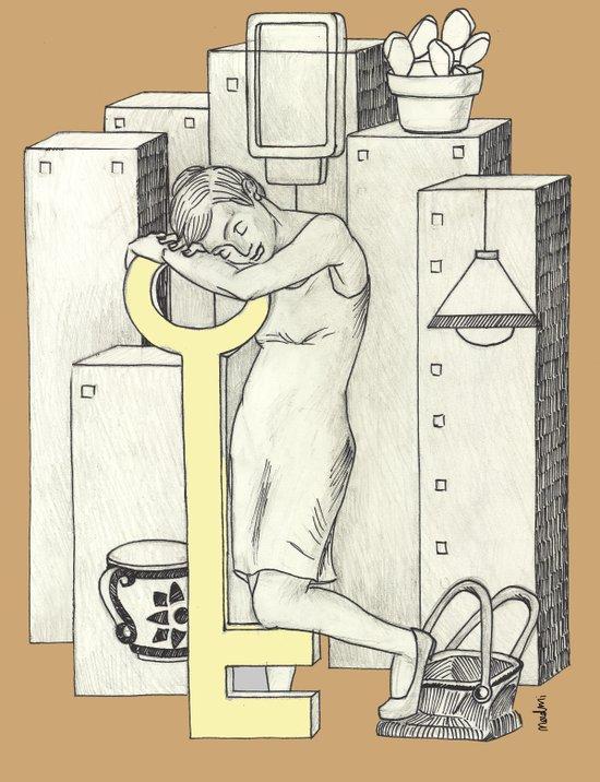 Napping Art Print