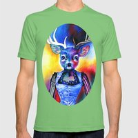 Reh Rote Mens Fitted Tee Grass SMALL