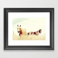 Sweetness Of Paradise Framed Art Print