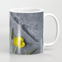 Hello Buttercup - Yellow Flower  Mug