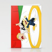 Olympic Sports: Judo Stationery Cards