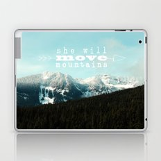 she will move mountains Laptop & iPad Skin