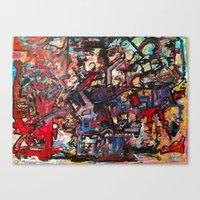 Canvas Print featuring State of Mind by Evan Hawley