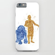 C3PO and R2D2 Star . Wars iPhone 6 Slim Case