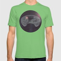 Joystick #03 Mens Fitted Tee Grass SMALL