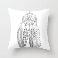 A Dreamcatcher Throw Pillow