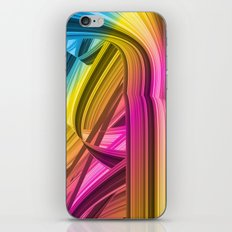 Tape colorful abstraction iPhone & iPod Skin