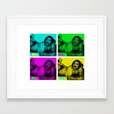 Ron Jeremy Framed Art Print