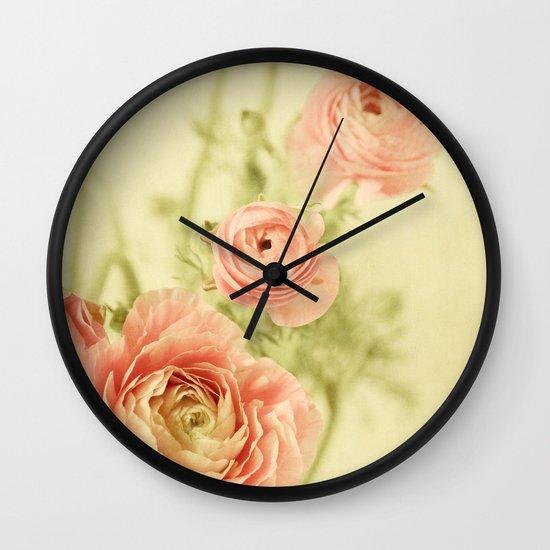 Sweet Spring Wall Clock