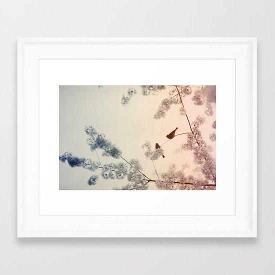 Central Park In Bloom #4 Framed Art Print