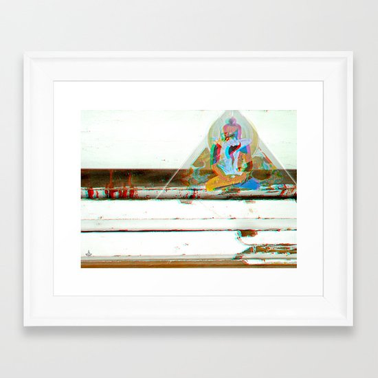 Tan^3d°c Framed Art Print