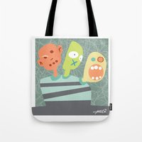 3 Heads Are Better Than … Tote Bag