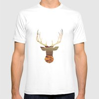 Deer Lake Mens Fitted Tee White SMALL