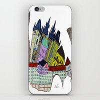 GOLDEN PRAGUE iPhone & iPod Skin