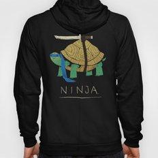 ninja - blue Hoody
