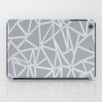 Ab Blocks Grey #2 iPad Case