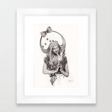 V I R G O Framed Art Print
