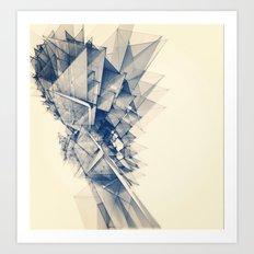 Polygon Tower Art Print