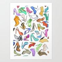 High Heel Art Print