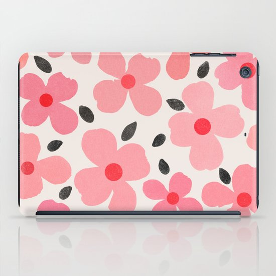 Dogwood Vintage Pink iPad Case