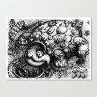 Eye Turtle Canvas Print