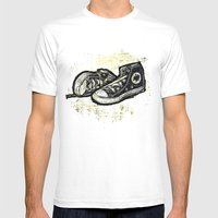 ETERNAL LOVE Mens Fitted Tee White SMALL